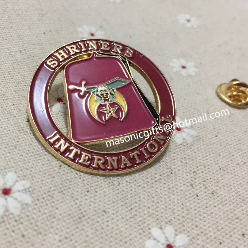 custom masonry lapel pin free masons badge internatinal