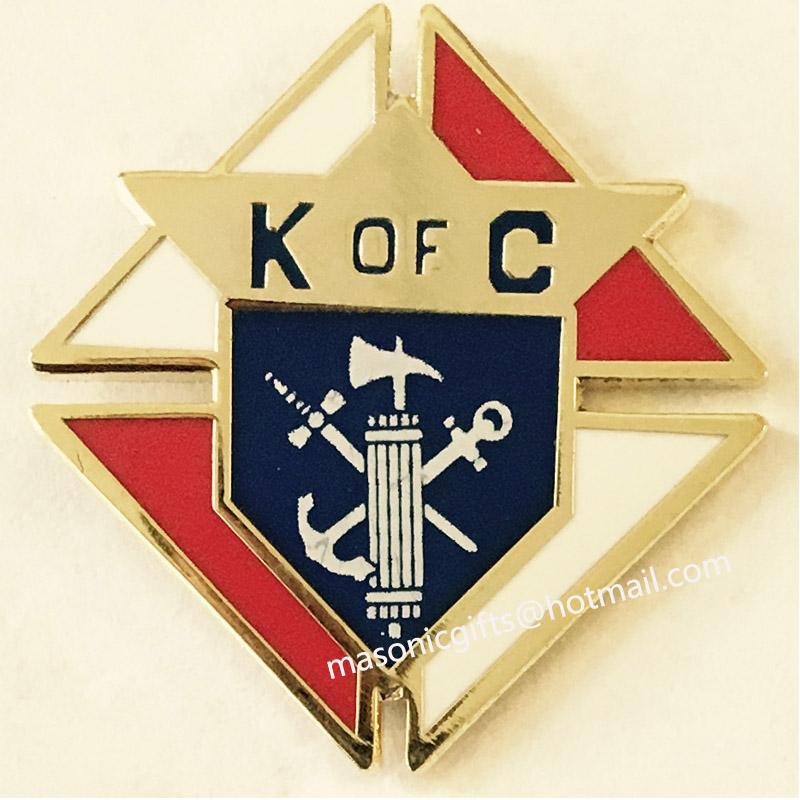 knights of columbus lapel pin custom k of c badges custom